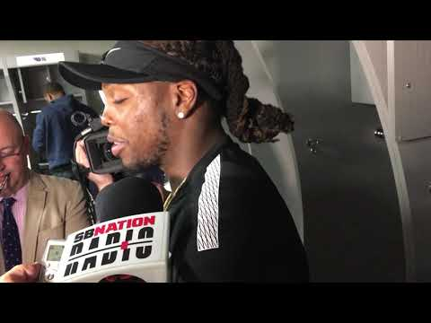 Derrick Henry on Jacksonville friends and family at the game for Tennessee Titans