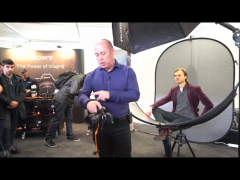 Robert Pugh Live Stream -  London Lens Show – Sony A9 Live in action