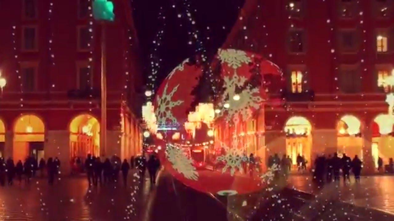 o holy night the christmas lights of nice france youtube