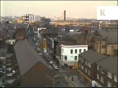 1980s East London, Mosque, Muslim, UK,  Archive Footage