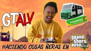 GTALV - Haciendo Cosas Ñeras En GTA.