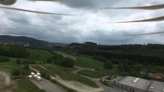 DJI Phantom 3 Advanced im HGP Bad Fredeburg! der 2. Testflug!