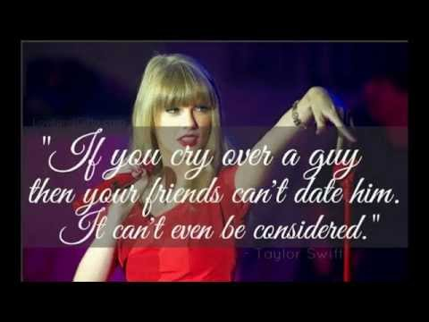Taylor Swift Quotes on Boys, Love & Relationships