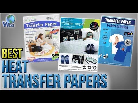10 Best Heat Transfer Papers 2018