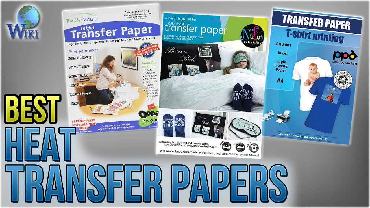 10 Best Heat Transfer Papers 2018
