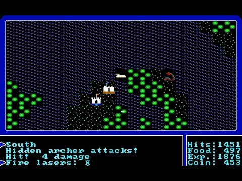Let's Play Ultima I #07: The Land of the Feudal Lords