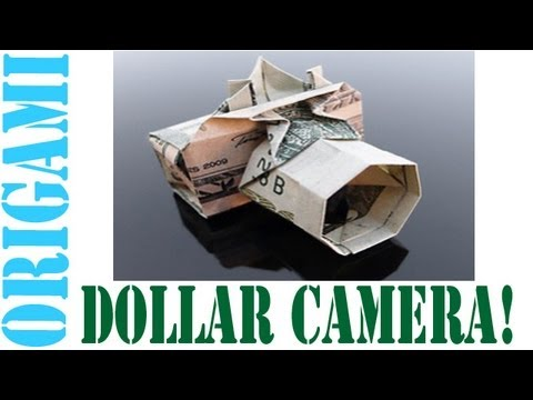 Origami Digital Camera (Dollar Bill Camera) - SunderOrigami!