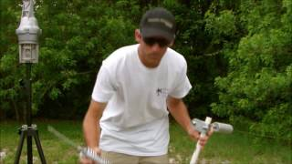 Portable dipole ham stick MFJ-347 mount