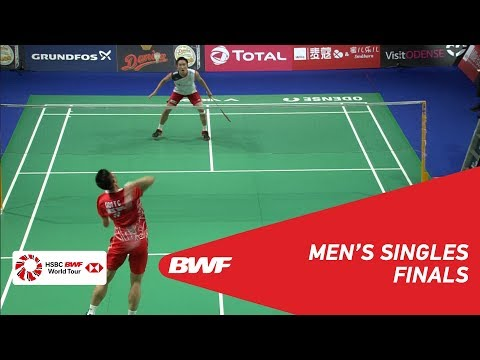 F | MS | CHOU Tien Chen (TPE) [4] vs Kento MOMOTA (JPN) [2] | BWF 2018