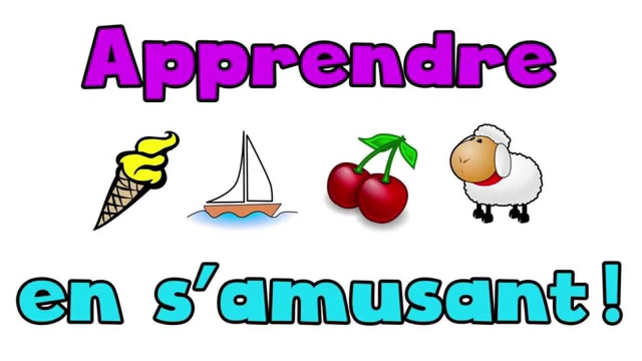 Préférence Apprendre le Français en s'amusant - LES MOTS (partie 1) - YouTube EN02