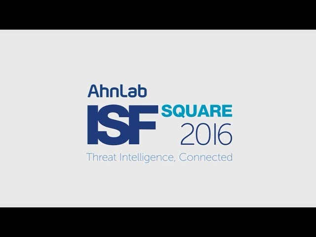 AhnLab ISF SQUARE 2016 스케치 영상 (안랩)