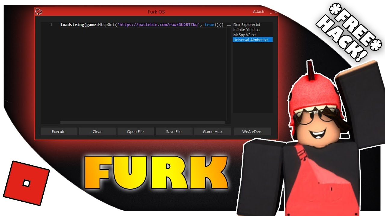 Furk Os Best Free Roblox Exploit 13 June 2020 Youtube