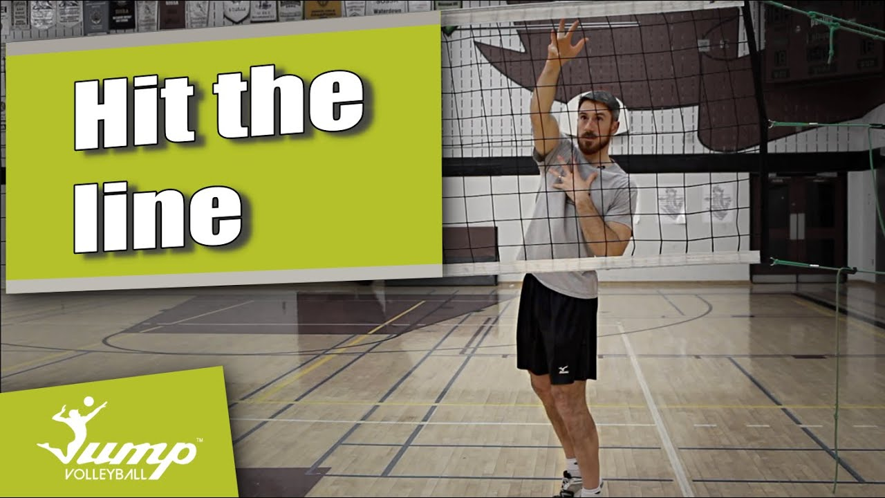 How to spike a volleyball cross body - Tip of the Week #50