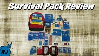 Survival Bug Out Backpack Review | Doomsday Prep Bag | Robles Junior
