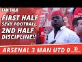 [Funny Video] First Half Sexy Football, 2nd Half Discipline!!  | Arsenal 3 Man Utd 0