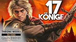 GAME OF THRONES: Die TARGARYEN-HERRSCHAFT! - Vorgeschichte von Westeros