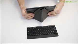 Gambar cover Moshi VersaKeyboard iPad Air Case Review - Best iPad Air Keyboard Case