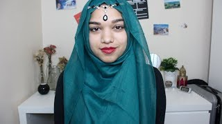 Simple Party Hijab Tutorial With Coverage Thumbnail