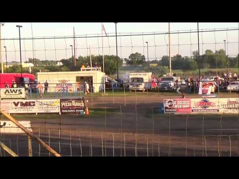 LMSS TOURING SERIES HEAT 1 RAPID SPEEDWAY JULY 29,2016