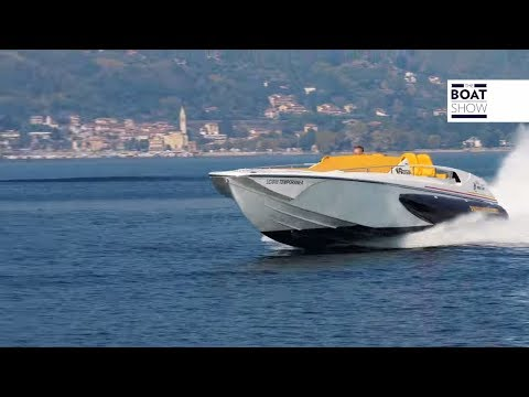 [ENG] MERCURY DIESEL 6.7L 550HP - BUZZI 38 STAB CORSA - 4K Review - The Boat Show