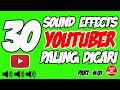 30 Efek Suara Terlucu | Sound effect terlengkap dipakai para Youtuber - Jadi youtuber