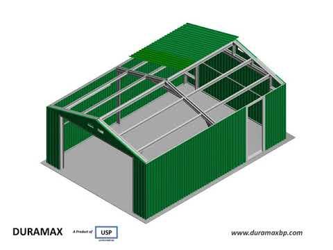 12ft x 20ft Metal Garage Assembly Steps