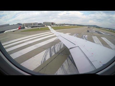 ✈Adria Airways Bombardier CRJ-900LR Takeoff From Zurich Airport (ZRH) [4K] ✈