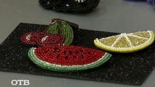Необычные украшения из бисера