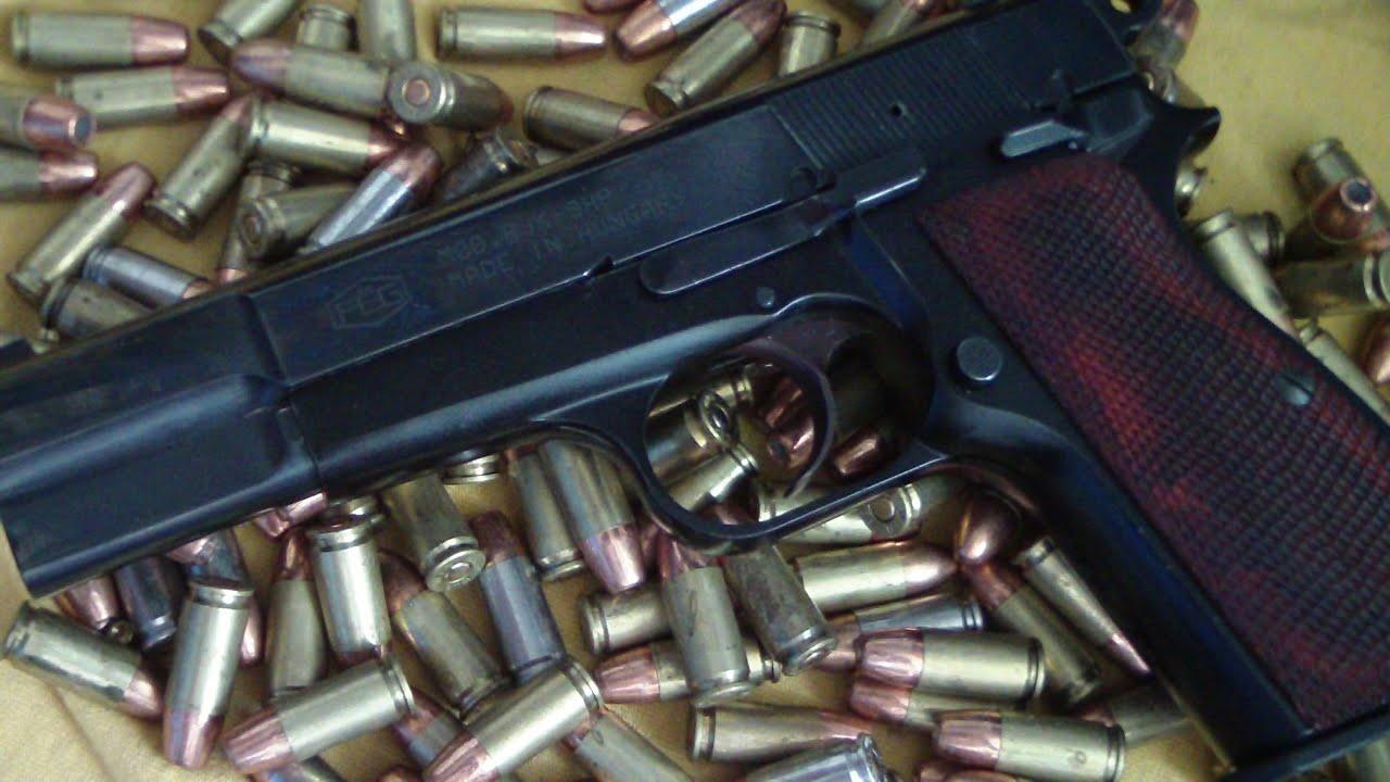 FEG browning Hi power 9mm pistol BATJAC J W