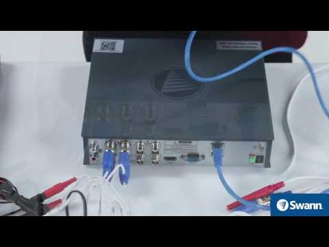 Swann DVK-4580 Set up Wizard - Thermal Sensing HD Security System DVR-4575