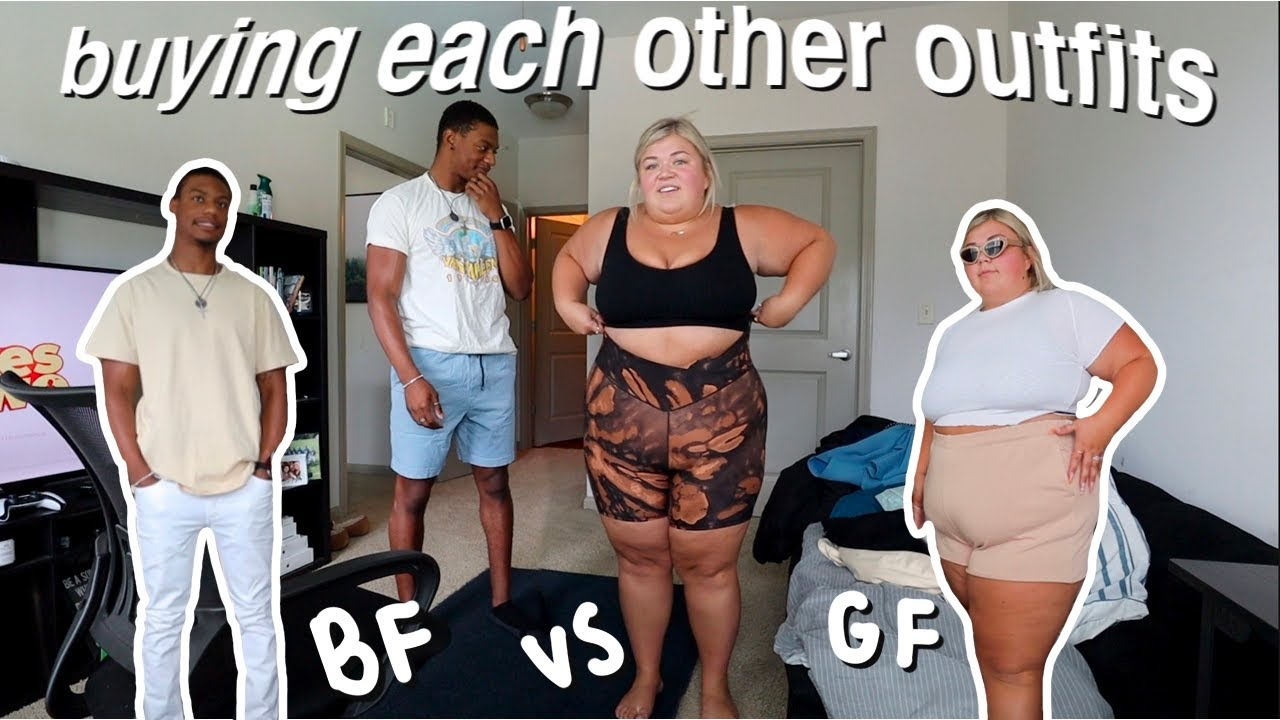 MY BOYFRIEND AND I BUY EACH OTHER OUTFITS *hot bf vs sassy gf*