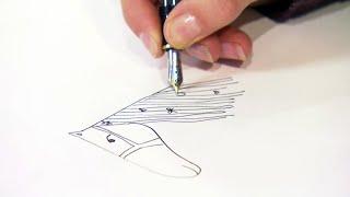 Kijk Hoe teken je een paard filmpje