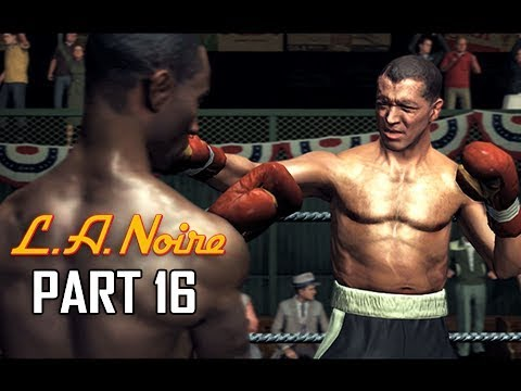 LA NOIRE Gameplay Walkthrough Part 16 - The Setup (5 STAR Remaster Let's Play)