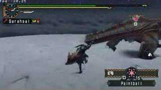 Dual Tigrex G Quest Monster Hunter Freedom 2