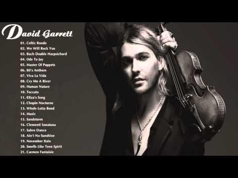 David Garrett Greatest Hits | The Best Of David Garrett | Best Instrument Music