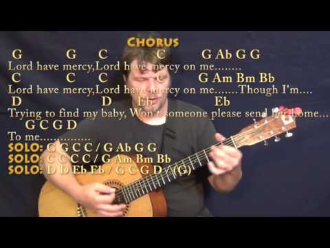 Stormy Monday (Allman Brothers) Guitar Cover Lesson with Chords/Lyrics