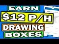 Make Money Online Drawing Boxes On Photos, Simple Tasks That Pay Weekly (WORLDWIDE)