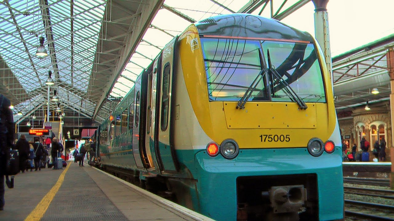 Newport To Crewe Arriva Trains Wales Class 175 06 01 13