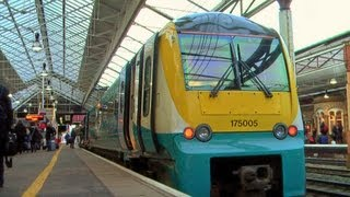 Newport to Crewe - Arriva Trains Wales Class 175 06/01/13