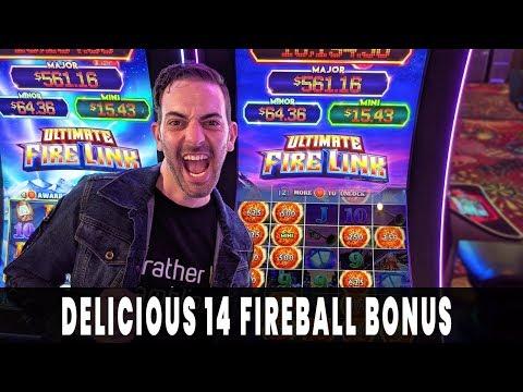 🔥 DELICIOUS 14 FIREBALLS 🎰 Ultimate Fire Link Comeback Bonus Time At Plaza Casino ☄