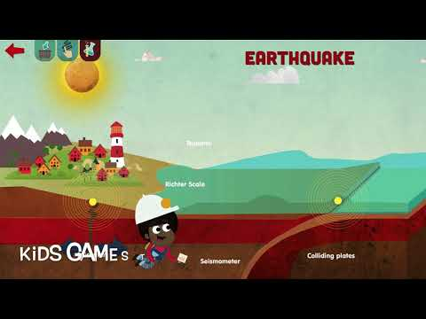 How It Works? - Small lectures that teaches about earthquake - Kids Game
