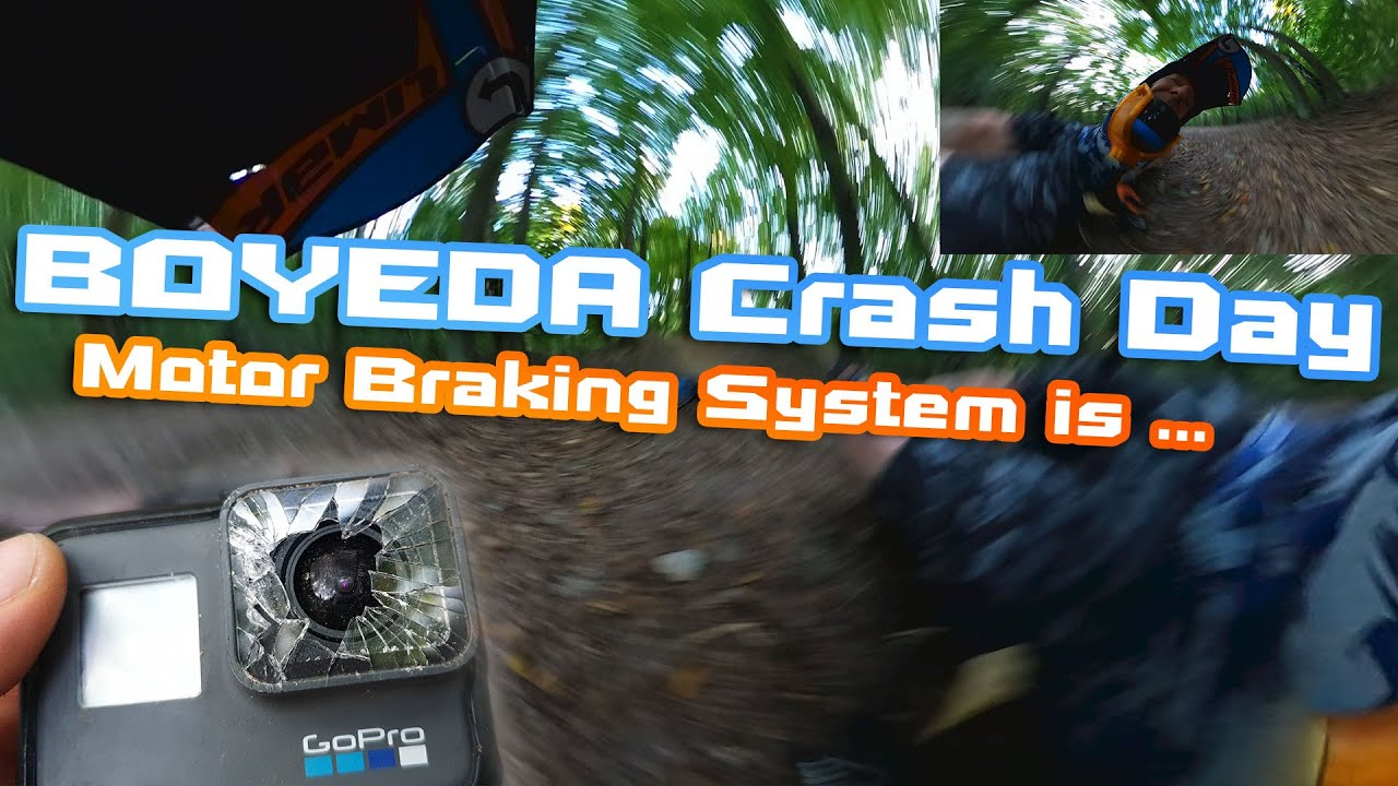 Boyeda Crash Day Because of too Powerful Motor Braking System 🛴🛠  How to disable it  💥🏴‍☠️🚀