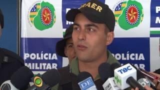 """PM divulga balanço da operação que desarticulou quadrilha 'Novo Cangaço"""""""