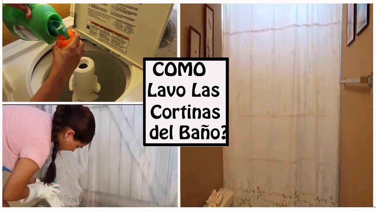 Rapidito de Limpieza: Como lavo mis cortinas de Baño ???