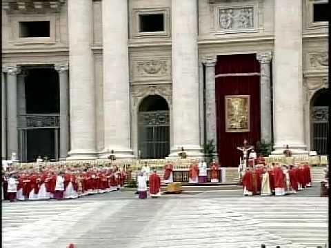 Litany of Saints - Funeral of John Paul II