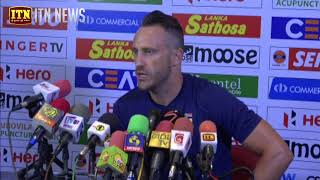 Faf du Plessis Press Conference