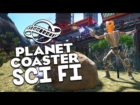 Planet Coaster Gameplay - Cowboys vs Aliens! - Let's Play Planet Coaster Part 12