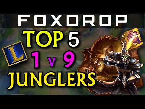 Top 5 HARD CARRY Junglers for Solo Queue in ANY PATCH - League of Legends
