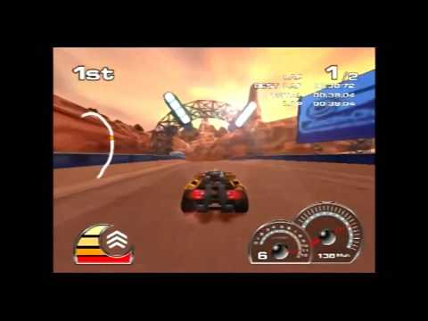 (Longplay #11) (PS2) Drome Racers (Part 1 of 4)