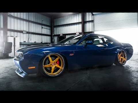 2011 Dodge Challenger Srt8 On 22 Quot Vr15 S Vip Modular